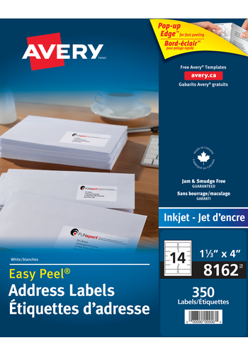 Avery<sup>&reg;</sup> Address Labels with Easy Peel<sup>&reg;</sup> - Avery<sup>&reg;</sup> Address Labels