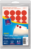 Avery<sup>&reg;</sup> Removable Colour Coding Labels 14201