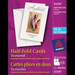 Avery® Half-Fold Greeting Cards