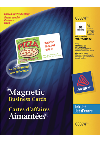 Avery<sup>&reg;</sup> Magnetic Business Cards - Avery<sup>&reg;</sup> Magnetic Business Cards