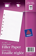 Avery<sup>&reg;</sup> Feuilles de Rechange 14230