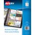 Avery<sup>®</sup> porte-cartes d'affaires pour reliures - Avery<sup>®</sup> porte-cartes d'affaires