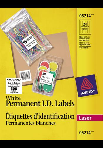 Avery<sup>&reg;</sup> Étiquettes d'identification pemanentes - Avery<sup>&reg;</sup> Étiquettes d'identification pemanentes