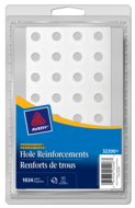 Avery<sup>®</sup> Reinforcement Labels 32200