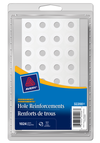 Avery<sup>&reg;</sup> Reinforcement Labels - Avery<sup>&reg;</sup> Reinforcement Labels