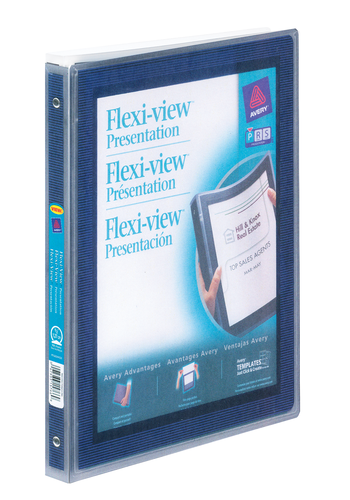 Avery<sup>&reg;</sup> Flexi-View&trade; Binder - Avery<sup>&reg;</sup> Flexi-View&trade; Binder