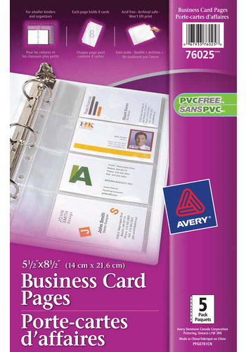 Avery<sup>&reg;</sup> Business Card Pages - Avery<sup>&reg;</sup> Business Card Pages