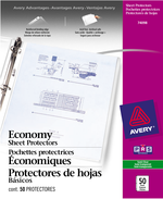 Avery<sup>&reg;</sup> Economy Weight Sheet Protectors 74098
