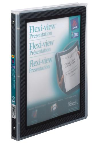 Avery<sup>®</sup> Reliure Flexi-View™ avec anneaux rond - Avery<sup>®</sup> Reliure Flexi-View™