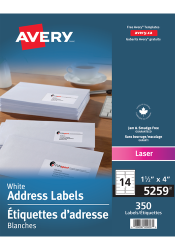 Avery<sup>&reg;</sup> Address Labels - Avery<sup>&reg;</sup> Address Labels