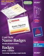 Avery<sup>&reg;</sup> Hanging Name Badge kit 5393