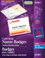 Avery<sup>®</sup> Hanging Name Badge kit 5393