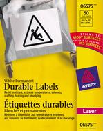 Avery<sup>&reg;</sup> Étiquettes d'identification durables avec Technologie TrueBlock<sup>MC</sup> pour imprimantes à laser 6575