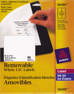 Avery<sup>&reg;</sup> Removable ID Labels 6499