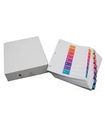 Avery<sup>&reg;</sup> Ready Index Intercalaires avec Table des Matières pour imprimantes à laser ou jet d'encre 11168