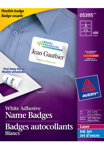Avery<sup>&reg;</sup> Flexible Name Badges - Avery<sup>&reg;</sup> Flexible Name Badges