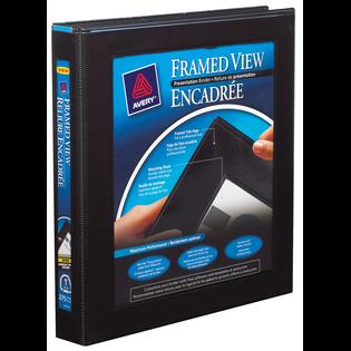 Avery® Framed View Binder