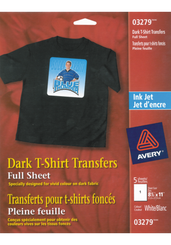 Avery<sup>®</sup> Dark T-Shirt Transfers - Avery<sup>®</sup> Dark T-Shirt Transfers
