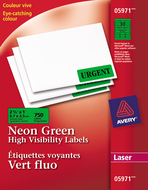 Avery<sup>&reg;</sup> High Visibility Labels 5971
