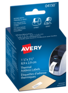 Avery<sup>®</sup> Address Labels for Thermal Label Printers and Label Makers 4150