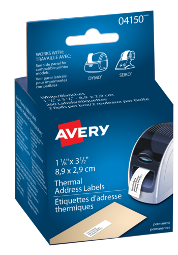 Avery<sup>&reg;</sup> Address Labels for Thermal Label Printers and Label Makers - Avery<sup>&reg;</sup> Address Labels