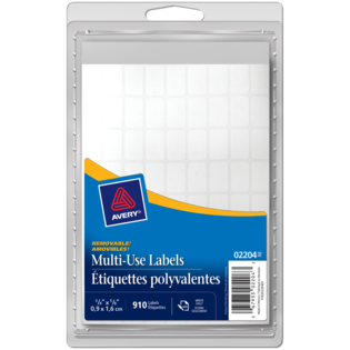 Avery® Multi-Use Removable Labels