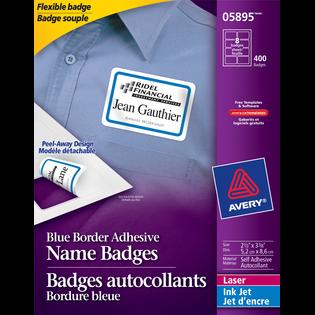 Avery® Flexible Name Badges