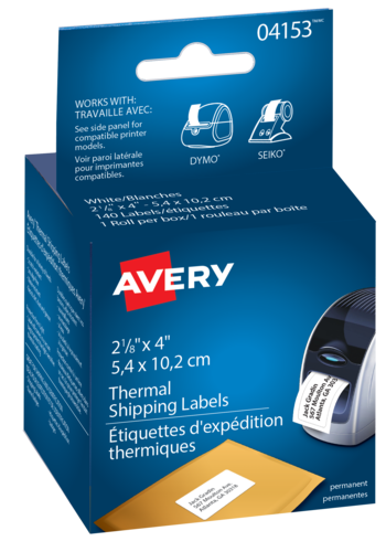 Avery<sup>®</sup> Shipping Labels for Thermal Label Printers and Label Makers - Avery<sup>®</sup> Shipping Labels