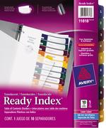 Avery<sup>&reg;</sup> Ready Index Intercalaires Translucides avec Table des Matières pour imprimantes à laser ou jet d'encre 11818