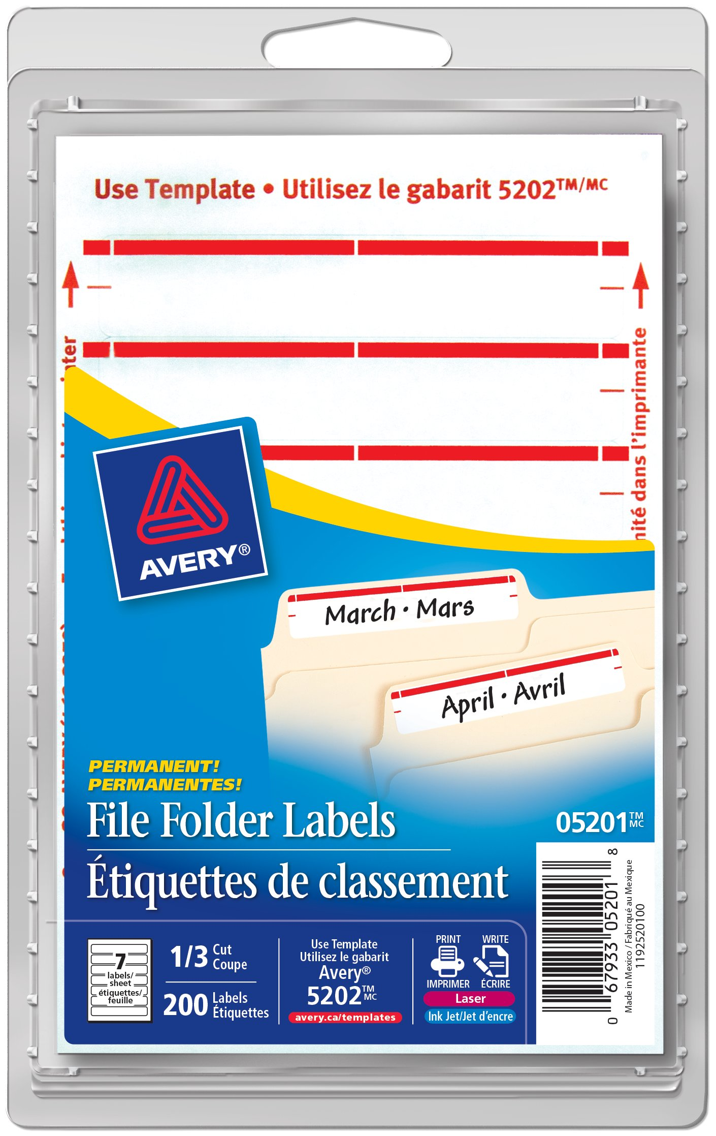 Avery 5266 Label Format Topsimages