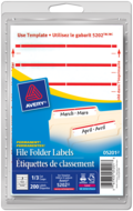 Avery<sup>®</sup> File Folder Labels  5201