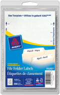 Avery<sup>®</sup> File Folder Labels 5202