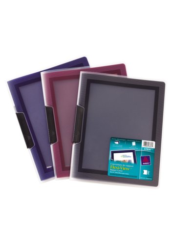 Avery® 47830 - Flexi-View™ Report Covers,  Holds 8½in. x 11in. Paper, Assorted Colours
