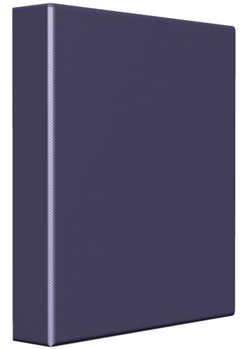 Avery® 79338 - Reliure de présentation robuste,  Holds 8-1/2in. x 11in. Paper, Violet