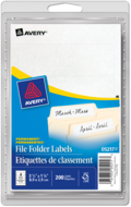 Avery<sup>®</sup> File Folder Labels 5217