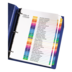 Avery<sup>®</sup> Ready Index Intercalaires avec Table des Matières pour imprimantes à laser ou jet d'encre - Avery<sup>®</sup> Ready Index Intercalaires