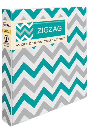 Avery<sup>®</sup> Durable View Binder, Zig Zag - Avery<sup>®</sup> Durable View Binder