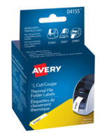 Avery<sup>&reg;</sup> Filing Labels for Thermal Label Printers and Label Makers 4155