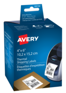 Avery<sup>&reg;</sup> Shipping Labels for Thermal Label Printers and Label Makers 4156