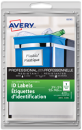Avery<sup>&reg;</sup> Self-Laminating ID Labels Handwrite 00745