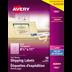 Avery<sup>&reg;</sup> Étiquettes d'expédition transparentes pour imprimantes à laser ou jet d'encre - Avery<sup>&reg;</sup> Étiquettes d'expédition transparentes