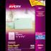 Avery<sup>&reg;</sup> Étiquettes d'adresse transparentes avec Easy Peel<sup>&reg;</sup> pour imprimantes à laser ou jet d'encre - Avery<sup>&reg;</sup> Étiquettes d'adresse transparentes