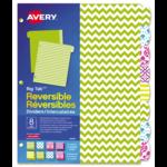 Avery<sup>&reg;</sup> Intercalaires réversibles Big Tab<sup>MC</sup> 24916