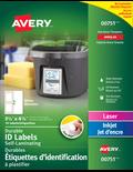 Étiquettes d'identification à plastifier Easy AlignMC® 7667
