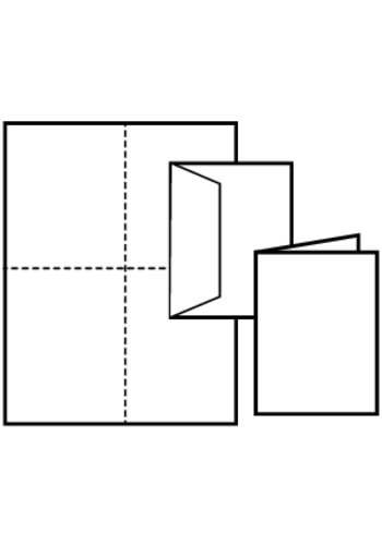 Averyr note cards tall 3268 2 cards per sheet for Avery note cards templates