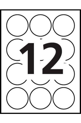 Avery® 22817 - Gabarit