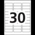 Avery<sup>&reg;</sup> Étiquettes de classement écologiques pour imprimantes à laser ou jet d'encre - Avery<sup>&reg;</sup> Étiquettes de classement écologiques