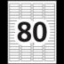Avery<sup>&reg;</sup> Étiquettes d'adresse écologiques pour imprimantes à laser ou jet d'encre - Avery<sup>&reg;</sup> Étiquettes d'adresse écologiques