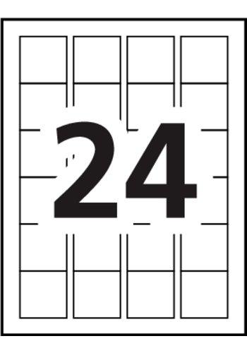 avery u00ae print or write multi-use labels - 5214 - template