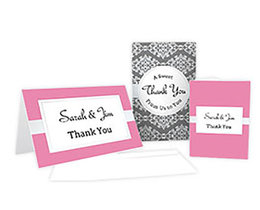 Thank You Cards and invitations